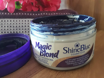 Máscara Matizadora Magic Blond da Shineblue
