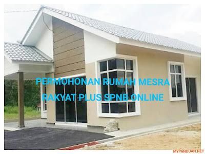 Permohonan Rumah Mesra Rakyat Plus SPNB Online