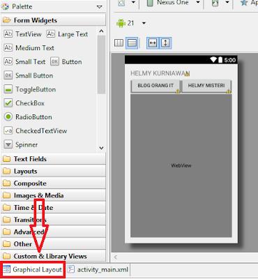 Menampilkan Situs dengan Webview Android