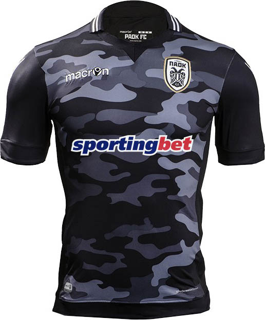 Macron Paok 2015 16 Football Jerseys
