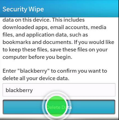How to Hard Reset Any BlackBerry 10 Devices | Phonetweakers