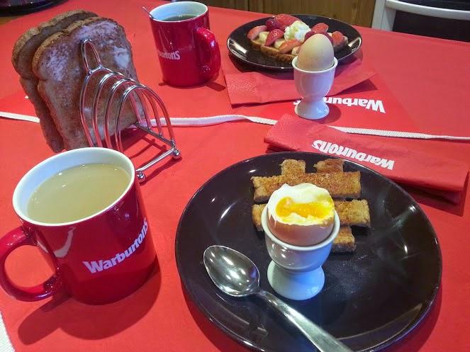 A Warburtons Big Red Breakfast