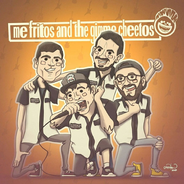 "Skatepunkers Exclusive: Me Fritos And The Gimme Cheetos stream new EP ""Radio Fritanga"""