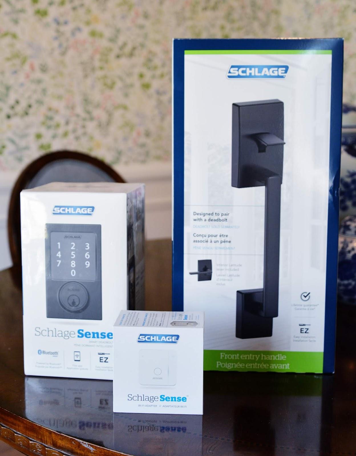 Schlage Sense smart lock, schlage sense smart deadbolt, smart lock wifi adapter