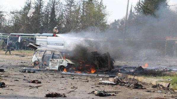 Bukti Kuat Rezim Assad Terlibat dalam Bom Mobil yang Menewaskan 100 Orang Lebih di Al-Rasyidin