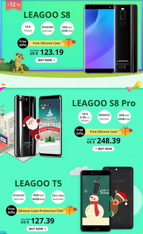 l3 LEAGOO 's 1st Anniversary celebrations kick Off! As much as 50% bargain! Technology