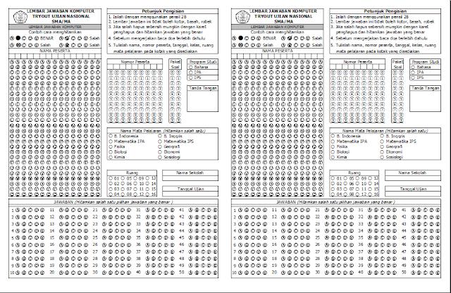 3 Langkah Membuat Desain LJK Menggunakan Microsoft Excel
