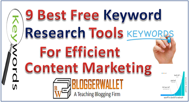 9 Best Free Keyword Research Tools For Effective Content Marketing [Updated]