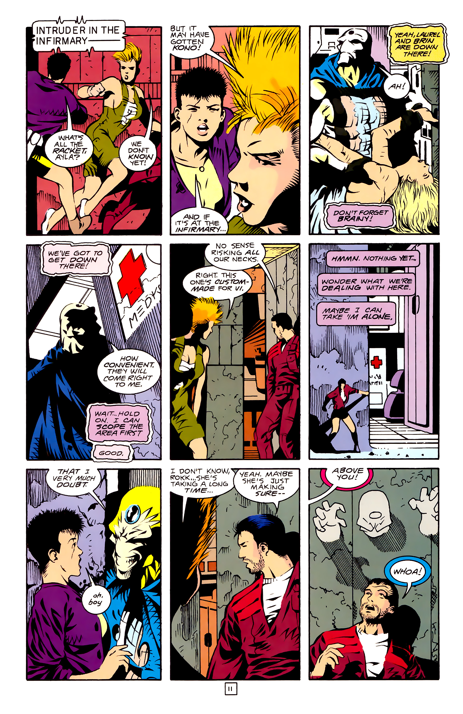 Legion of Super-Heroes (1989) 27 Page 11