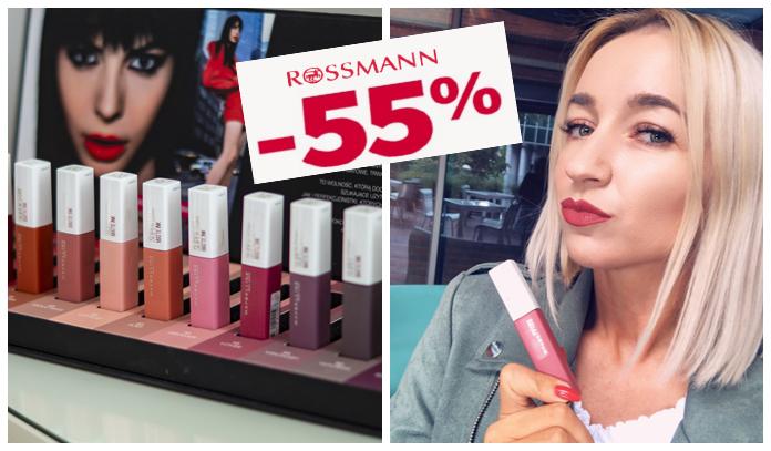 Promocja promocja 55% Rossmann/ Maybelline SuperStay Matte Ink opinie i recenzje pomadek matowych