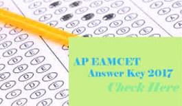 AP EAMCET 2017 Answer Key, AP EAMCET 2017 Key, EAMCET Answer Key