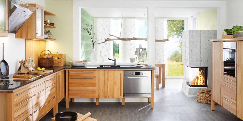 Cocinas de madera maciza: todavía existen - Cocinas con estilo