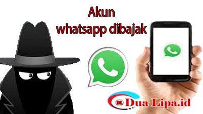 akun whatsapp dibajak