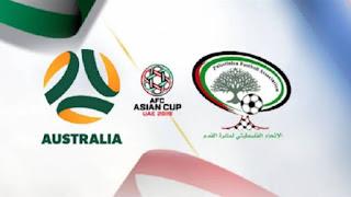 نتيجة واهداف مباراة فلسطين واستراليا اليوم 11/1/2019 Palestine vs Australia علي قناة beIN Sports max 1 hd