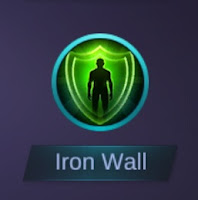 spell mobile legend Iron wall