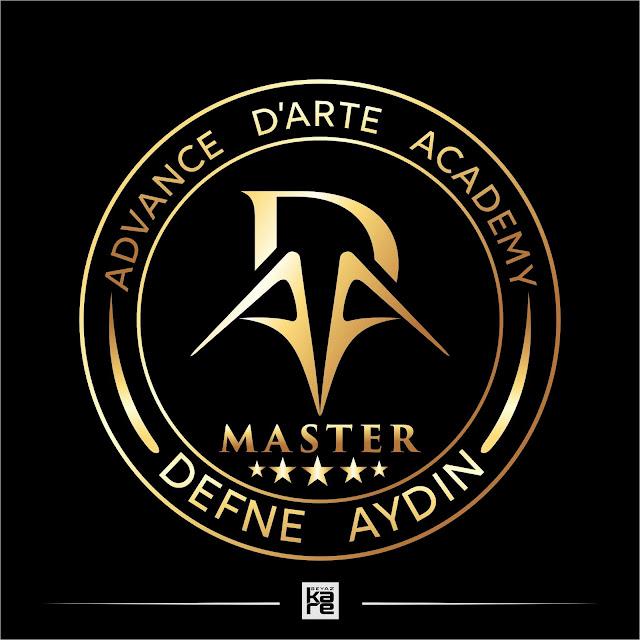 Güzellik uzmanlığı kalıcı makyaj akademi logo tasarımı