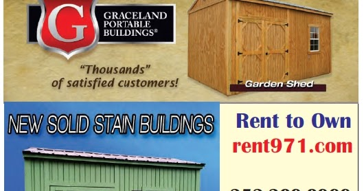 Graceland Portable Buildings - Albemarle Tradewinds