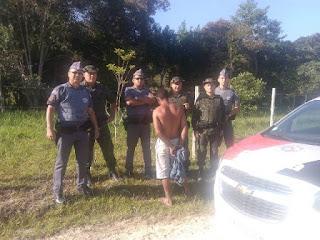 POLÍCIA MILITAR PRENDE HOMEM QUE ESTUPROU IDOSA DE 80 ANOS EM REGISTRO-SP