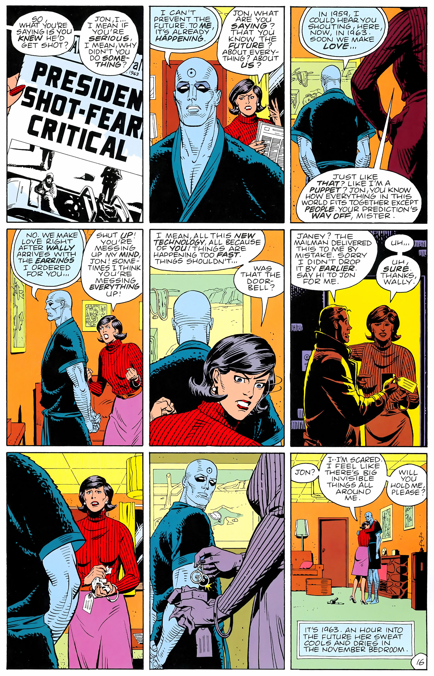 Watchmen (1986) issue 4 - Page 18
