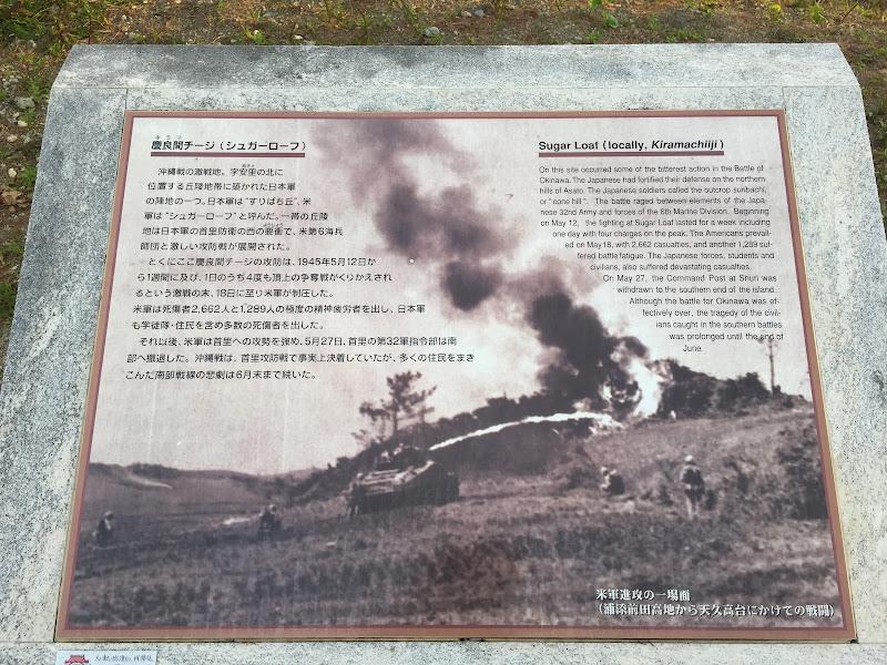 沖縄の「シュガーローフの戦い」