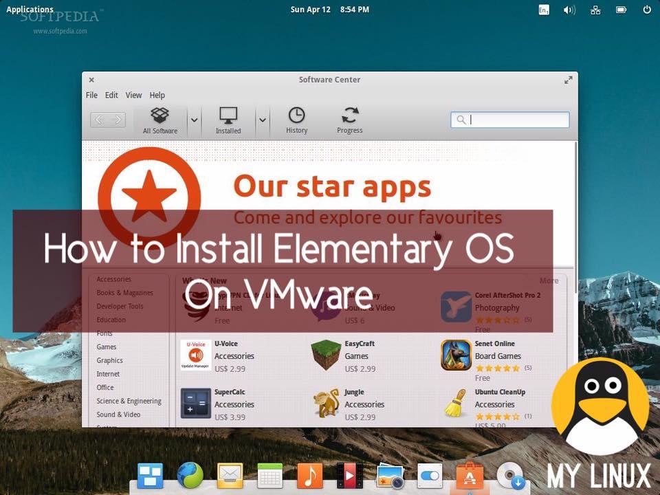 لینوكس | چۆنیهتی دامهزراندنی كۆتا وهشانی دابەشكراوی ئیلمێنتەری ئۆ ئێس  Elementary OS