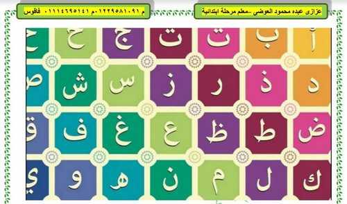 أقوى مذكرة لغة عربية للصف الأول الابتدائي ترم أول 2019 المنهج الجديد