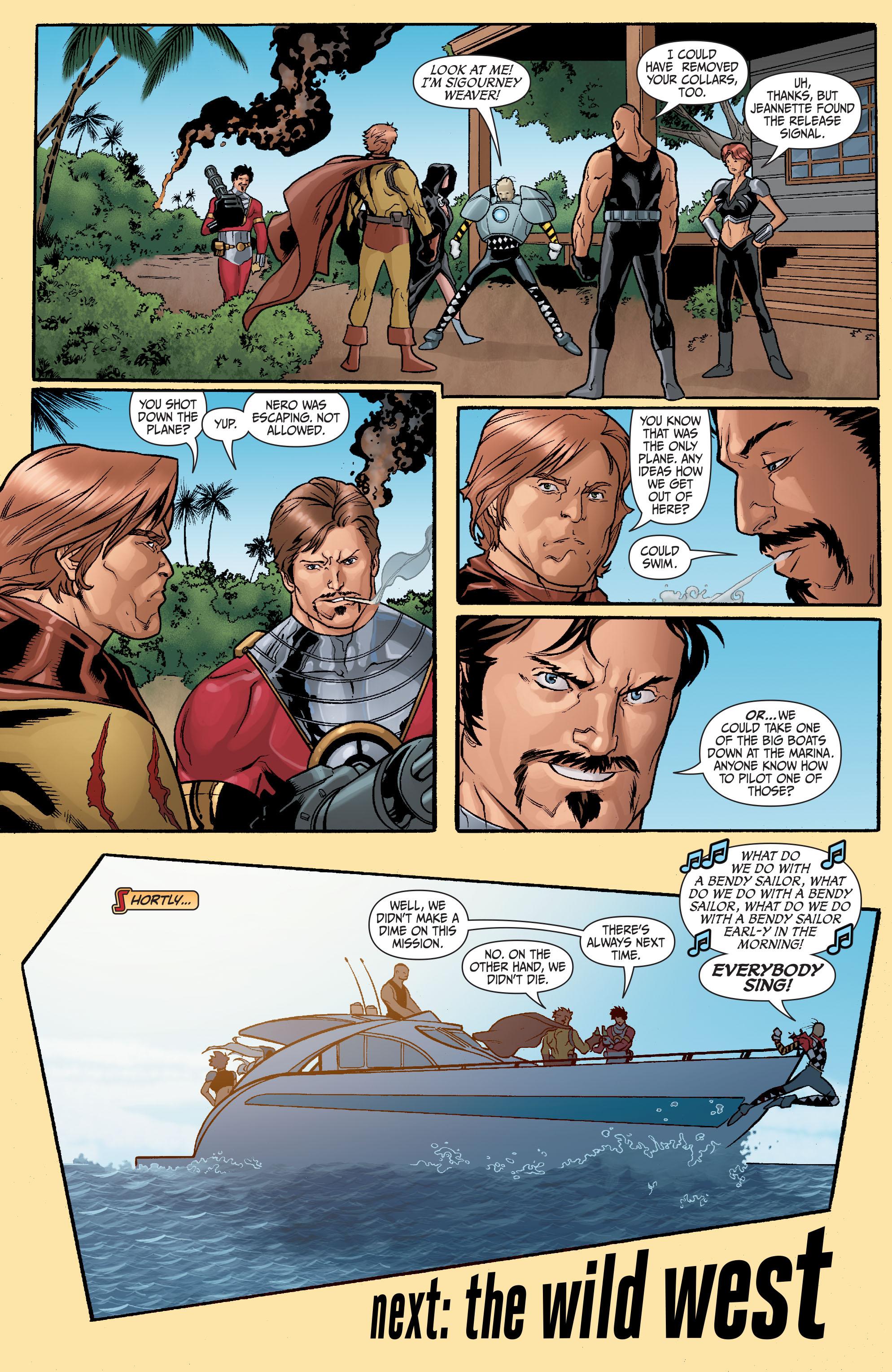 Read online Secret Six (2008) comic -  Issue #23 - 23