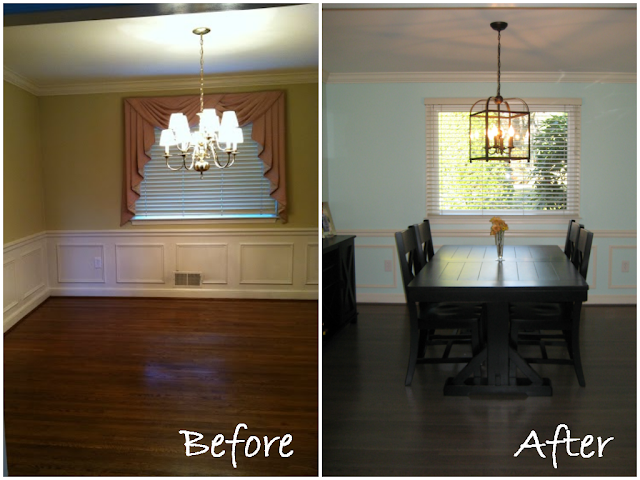 Dining Room Before & After | Meet the B's