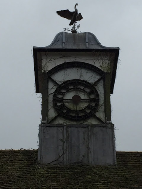 Disused clock tower, Hadley Common, EN5