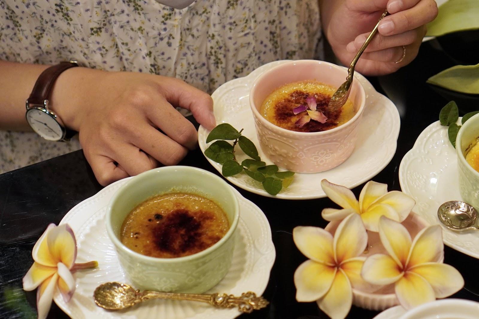 台南中西區美食【Moment烤布蕾專賣店】玫瑰烤布蕾介紹