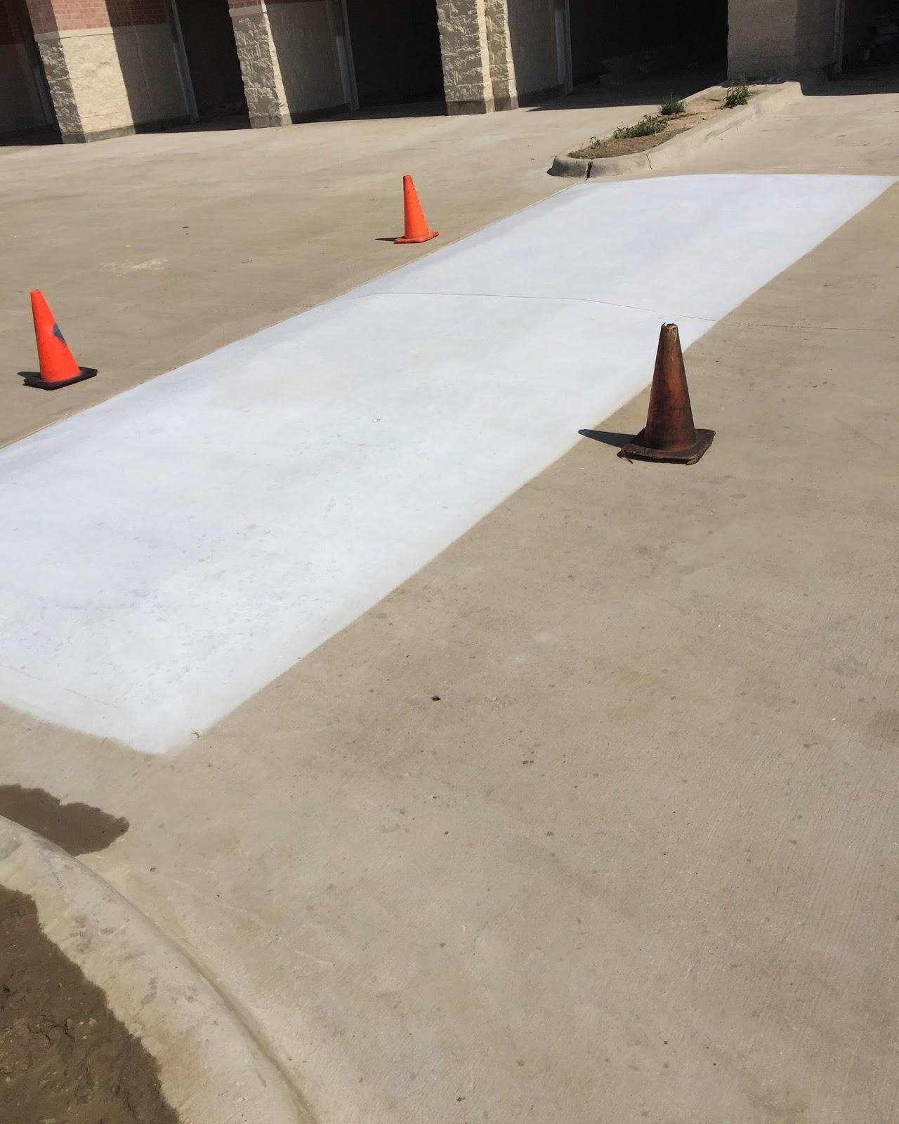 Epoxy Speed Bumps : Epoxy floor coatings