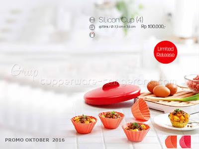 Silicon Cup ~ Tupperware Promo Oktober 2016