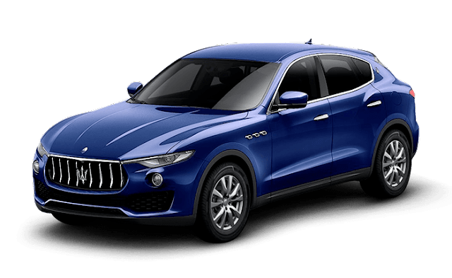 New Maserati Levante S SUV blue HD Images