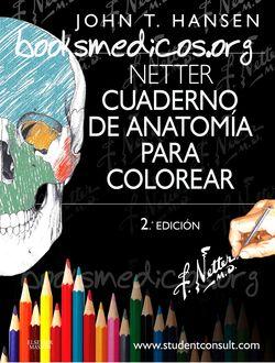 Netter Cuaderno de Anatomía para Colorear 2ª Edición | booksmedicos