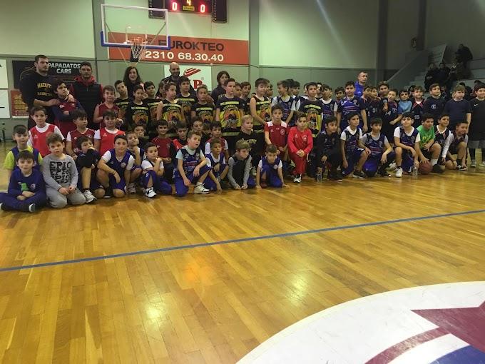 Φωτορεπορτάζ από τα σημερινά παιχνίδια αγοριών του 7ου Xmas Basketball Tournament του Παναθλητικού