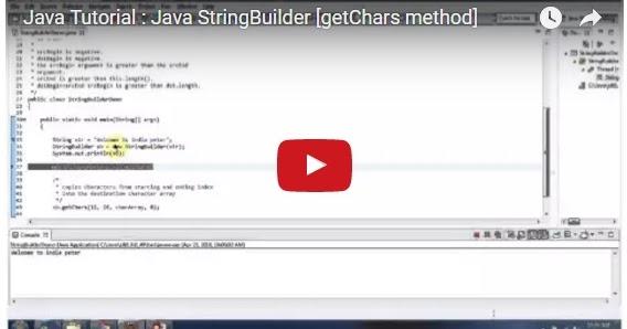 Java ee java tutorial java stringbuilder getchars method for Object pool design pattern java