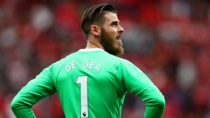 EPL: De Gea loses Spain's No 1 shirt to Chelsea's Kepa