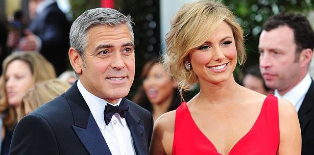 Stacy Keibler y George Cloney