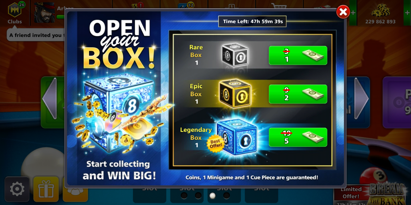 Download new 8 ball pool lavel 6 MOD apk and earn 5 cash 1