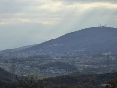 くろんど園地 展望台からの眺望 生駒山上遊園地