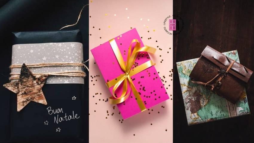 Pacchetti regalo personalizzati.