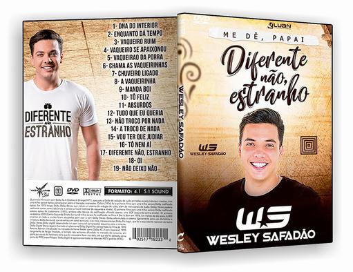 DVD – Wesley Safadao Diferente Nao Estranho – ISO