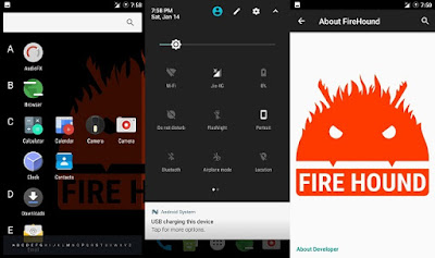 Download Custom Rom FireHound Andromax A a16c3h - Fix All Bug