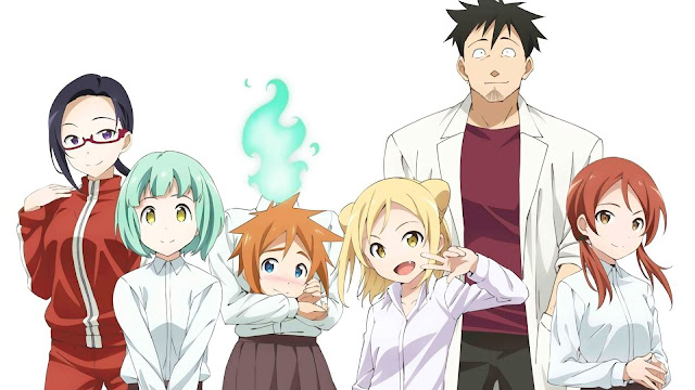 [Review Anime] Demi-chan wa Kataritai