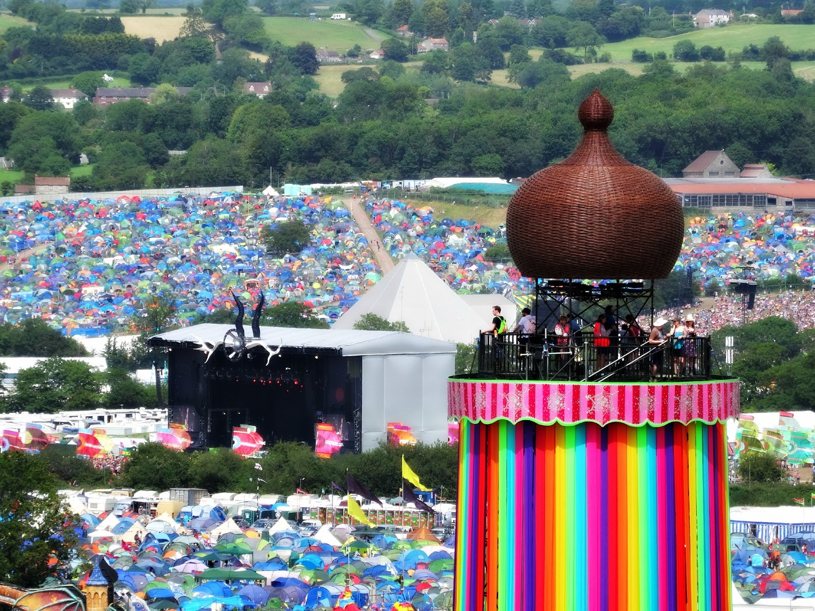 Glastonbury summer 2015