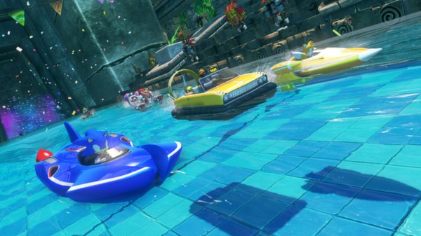 Sonic and All-Stars Racing Transformed PC Full Version Screenshot 2