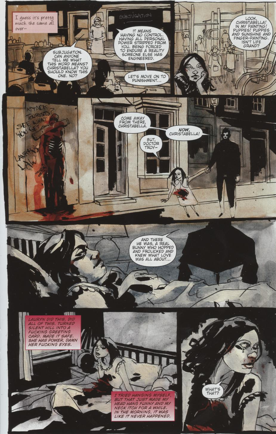 Read online Silent Hill: Dead/Alive comic -  Issue #1 - 9