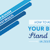 How To Make Your Blog Stand Out In 2015