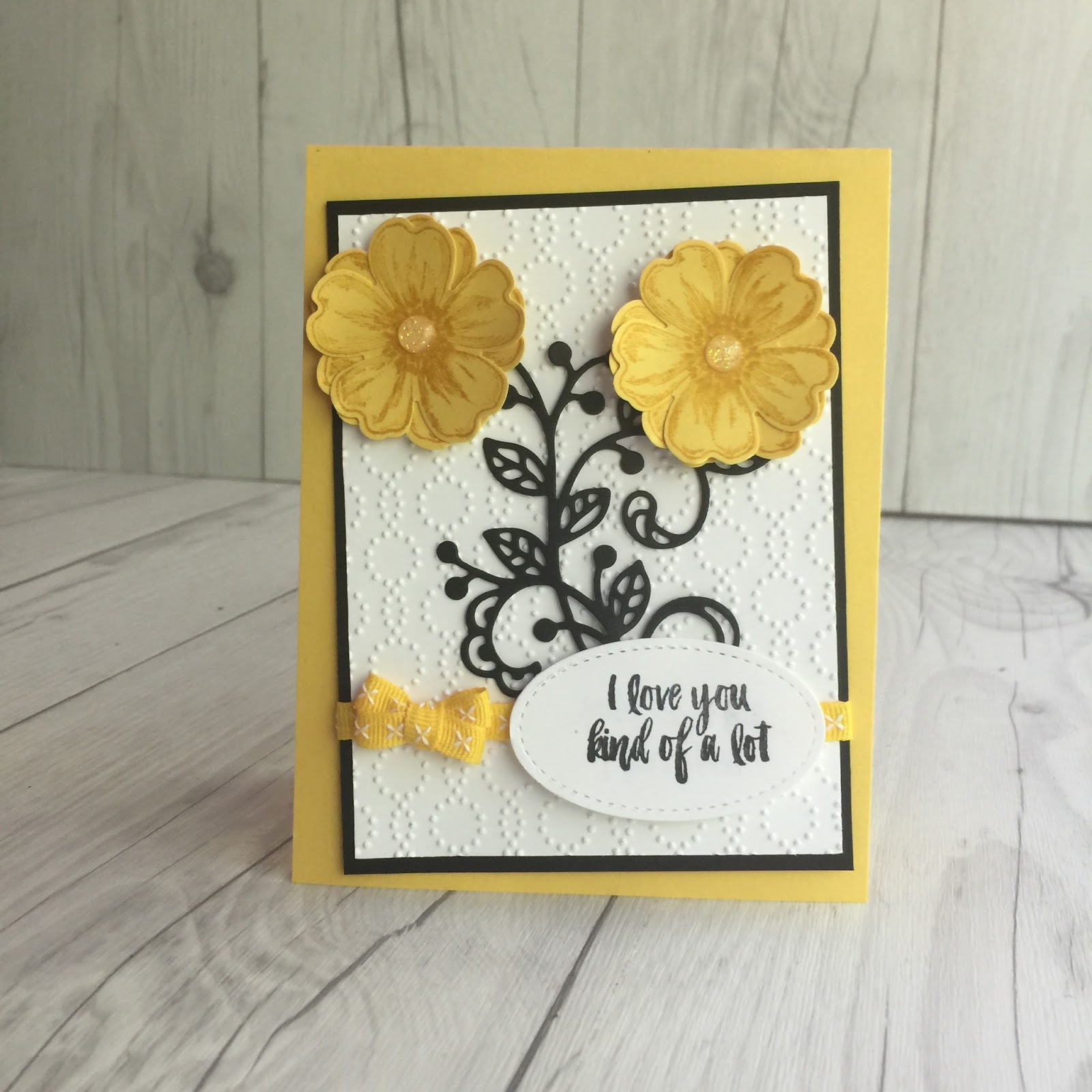 flower shop from stampin' up  stamped sophisticates