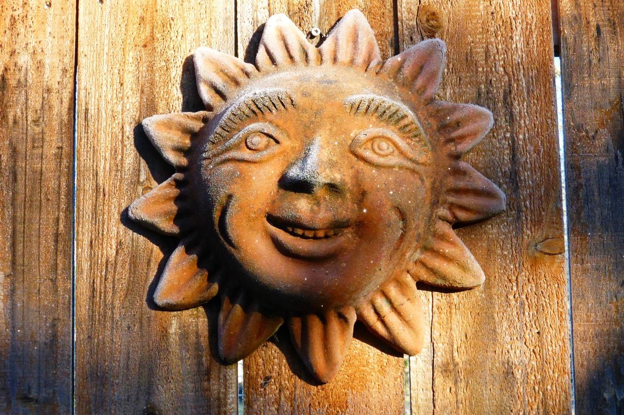 New Mexico sun, New Mexico frosty sun